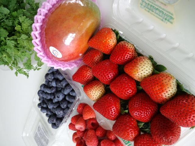 フルーツ盛り!
