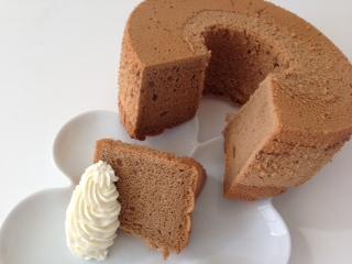 カプチーノシフォンケーキ